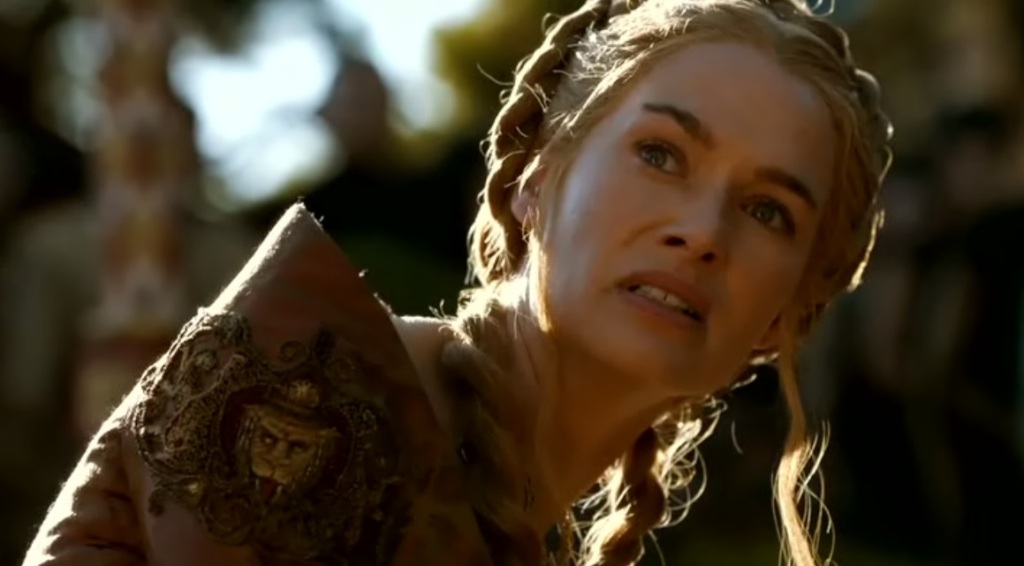 A Game of Cersei – Cersei feeds some dogs | We Love Tv