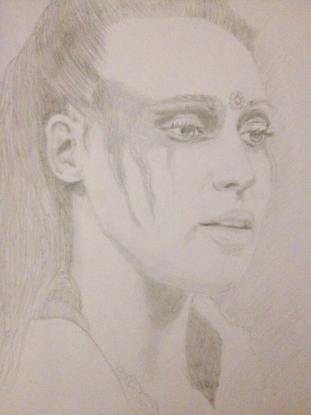 Drawn by Elke